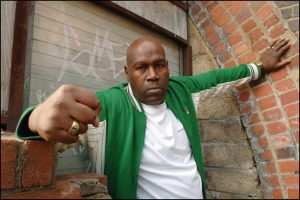 Cass Pennant near his home in Penge, South East London on June 11 2008