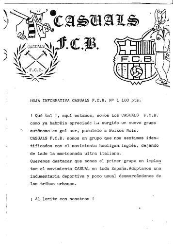 Casuals FCB nº1